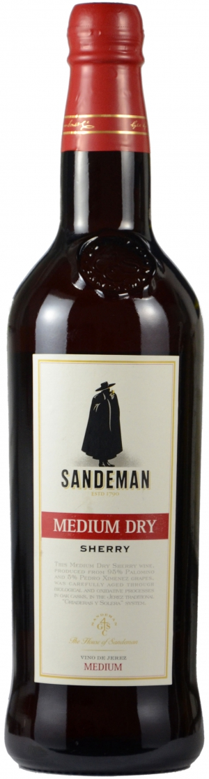 Medium Dry Sherry 15%
