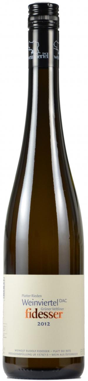 Grüner Veltliner Weinv. DAC Plattern Rieden 13%