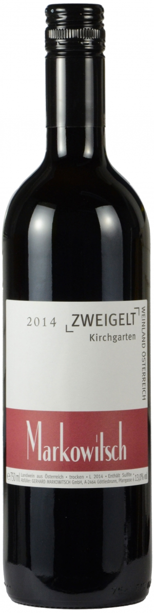 Zweigelt Kirchgarten 13%